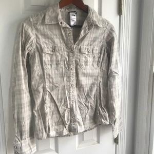 North face women's button up